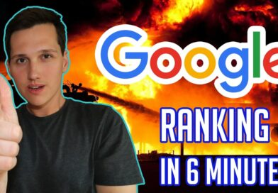 How To Rank In Google In Just 6 Minutes!