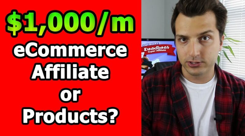 Making Your First $1,000/m Online: Affiliate Marketing vs. Products vs. eCom