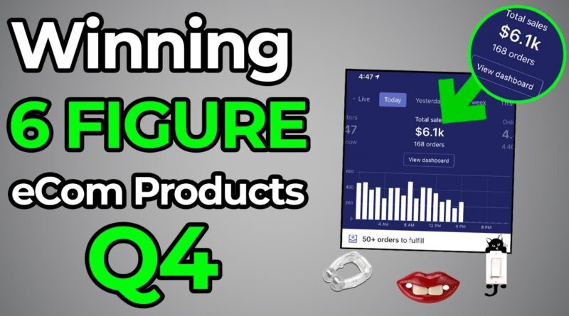 WINNING Products To Drop Ship In November 2019 Q4 (Product Research REVEALED)