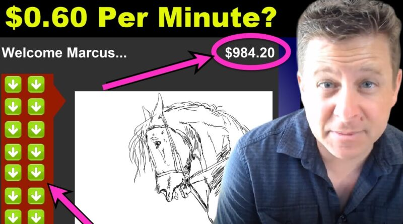 Crazy New App Pays $0.60 Every Minute? – You Won't Believe It!