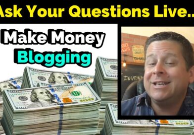 Make Money Blogging – LIVE Q And A – How Much Blogs REALLY Earn